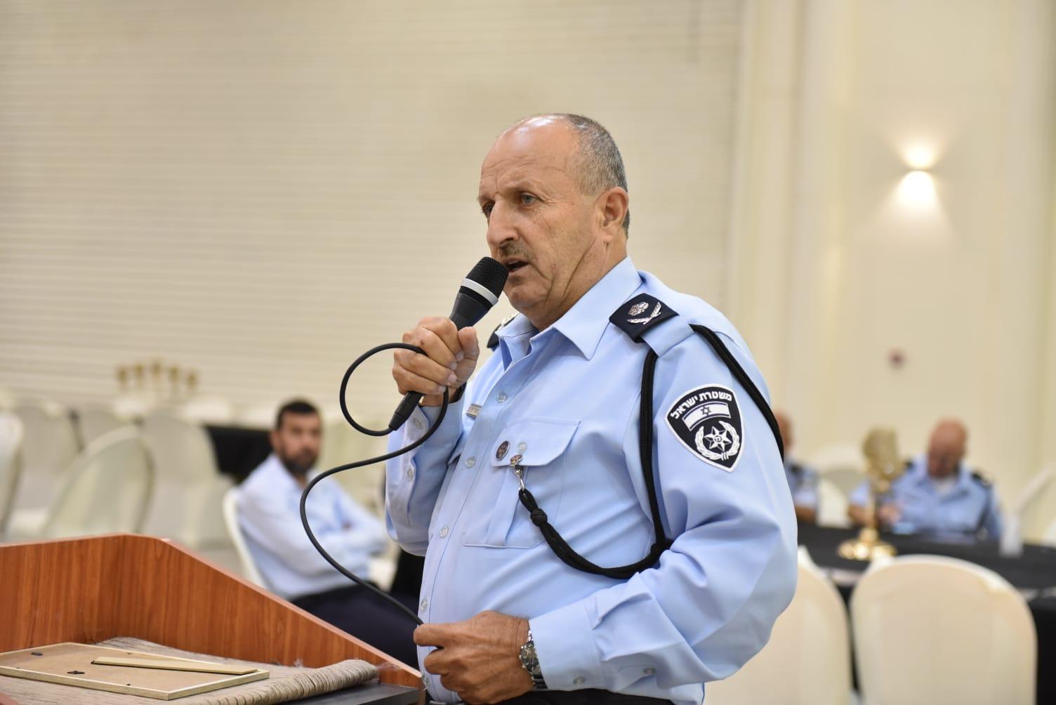 مؤتمر لقيادة الشرطة وأئمة المساجد في رهط