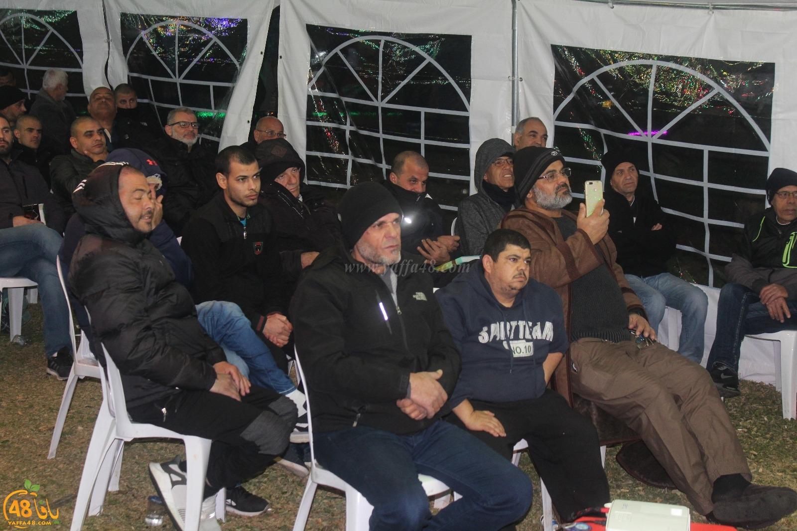 بالصور: خيمة الهدى الدعوية تُنظم أمسية دعوية في ضيافة عائلة دريعي بيافا