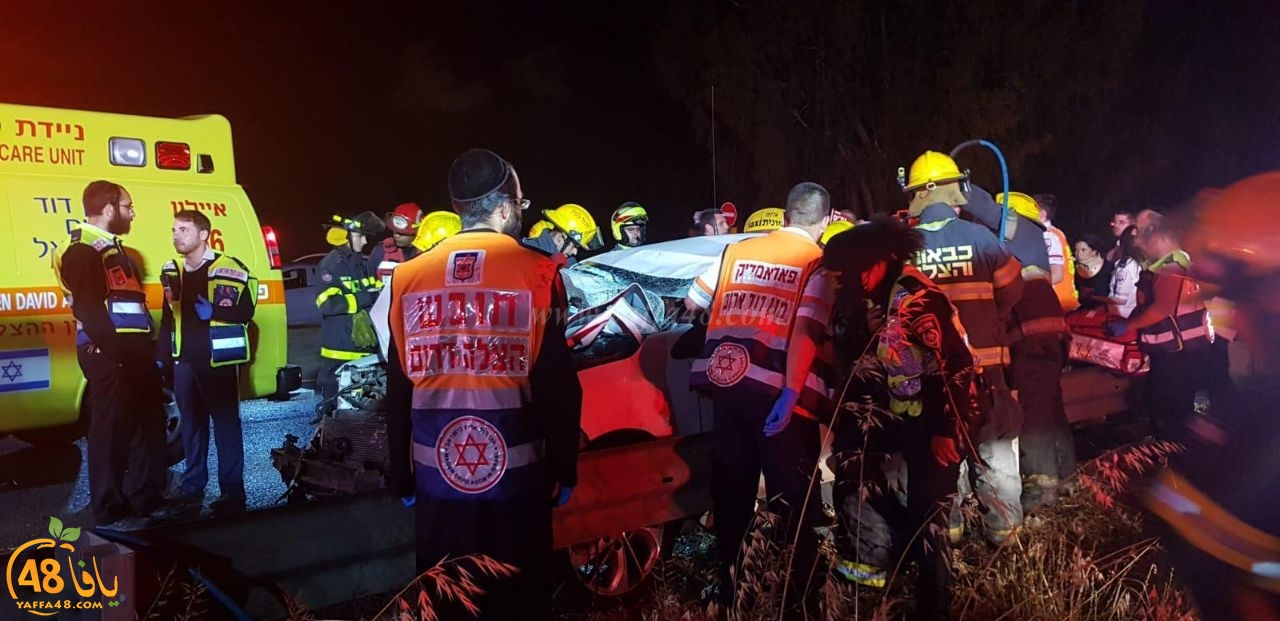 اصابة رجل وسيدة بجراح خطرة بحادث طرق مروّع في الجنوب