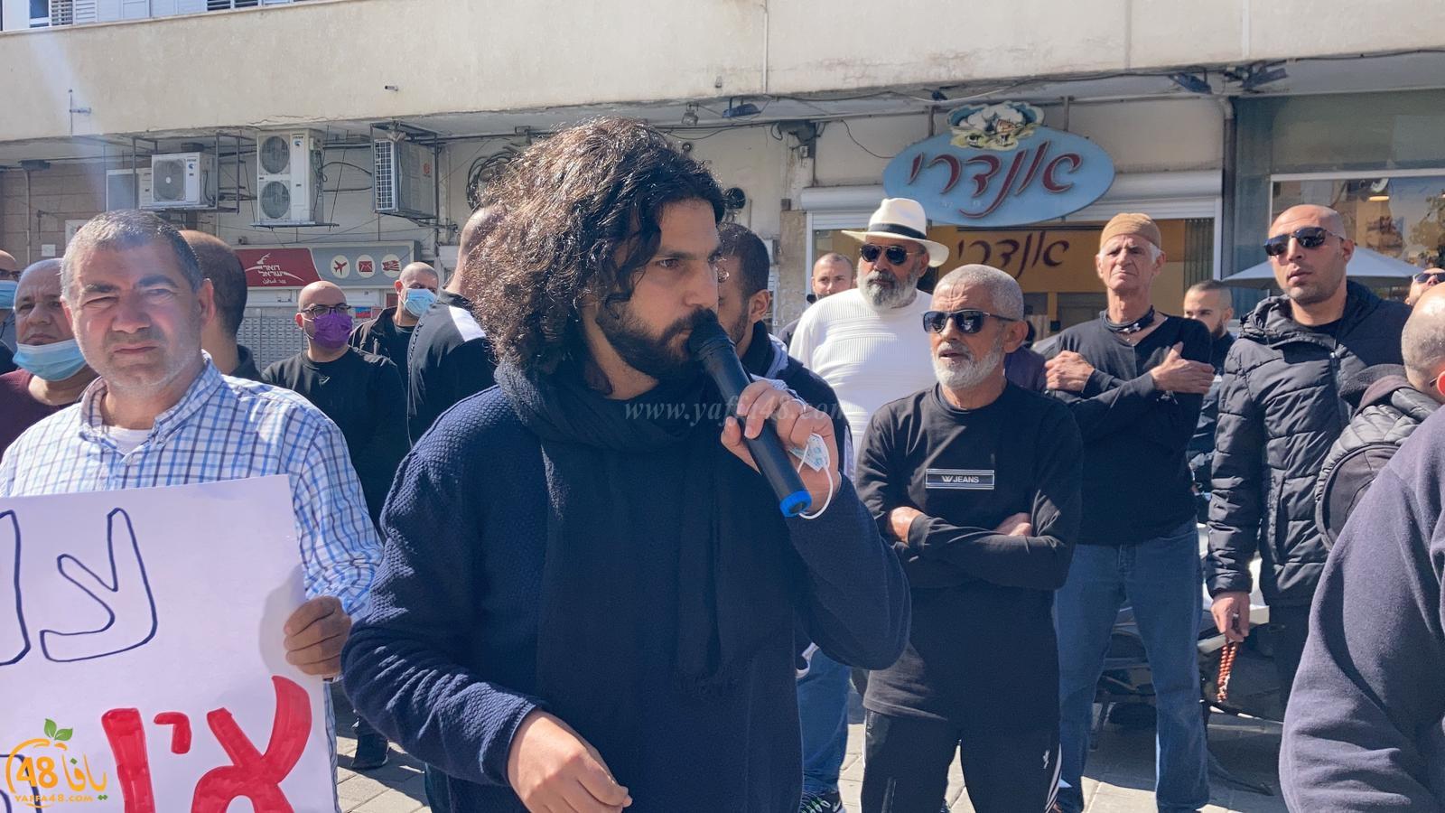 فيديو: أهالي يافا في تظاهرة احتجاجية ضد شركة عميدار ومخططاتها