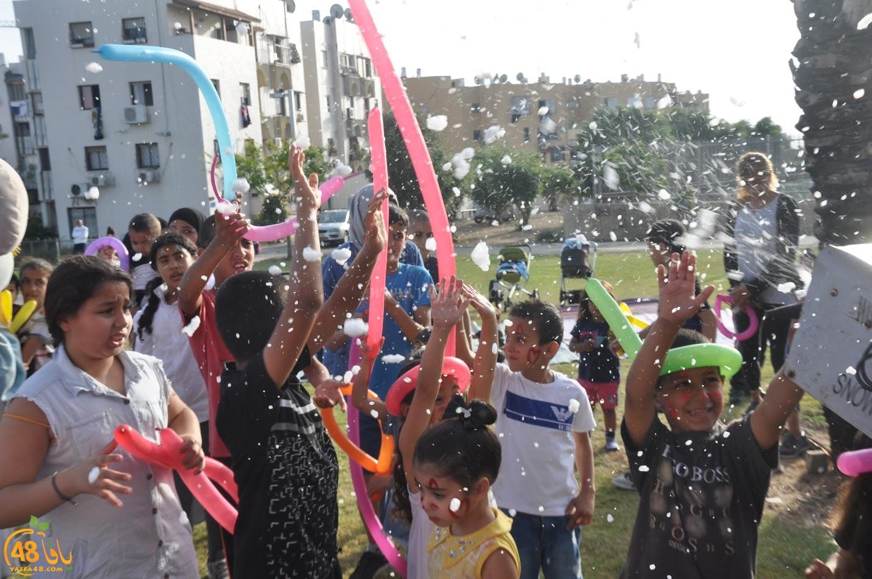 بالصور: فعاليات شيّقة للصغار في ساحة كيدرون بحي الجبلية في يافا