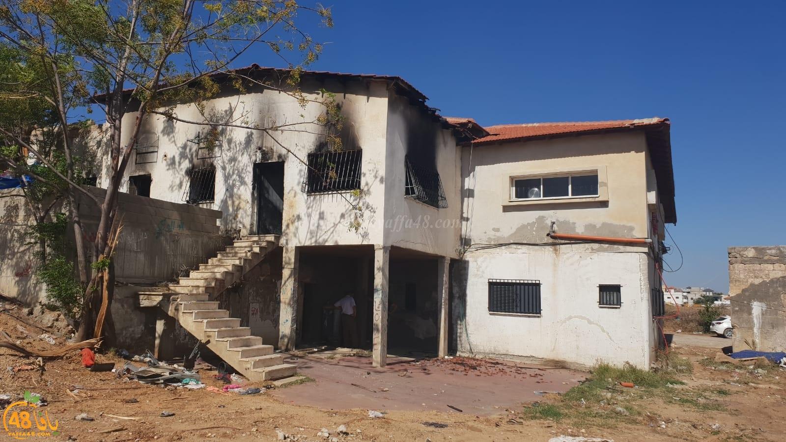 اللد: مناشدة لمساعدة عائلة بحي شنير بعد احتراق منزلهم