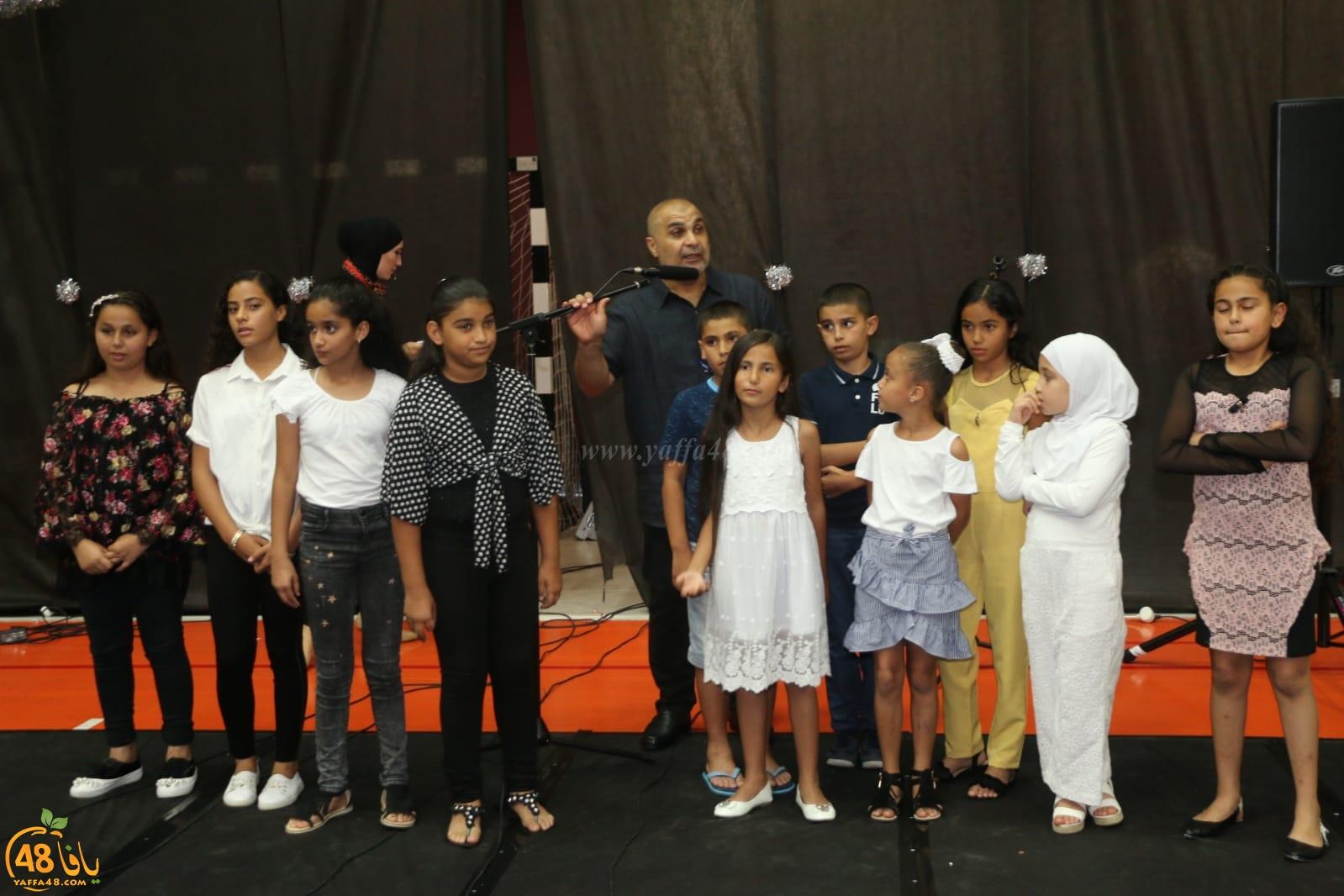 بالصور: مدرسة حسن عرفة الابتدائية تحتفل بتخريج الفوج الـ62 من طلابها