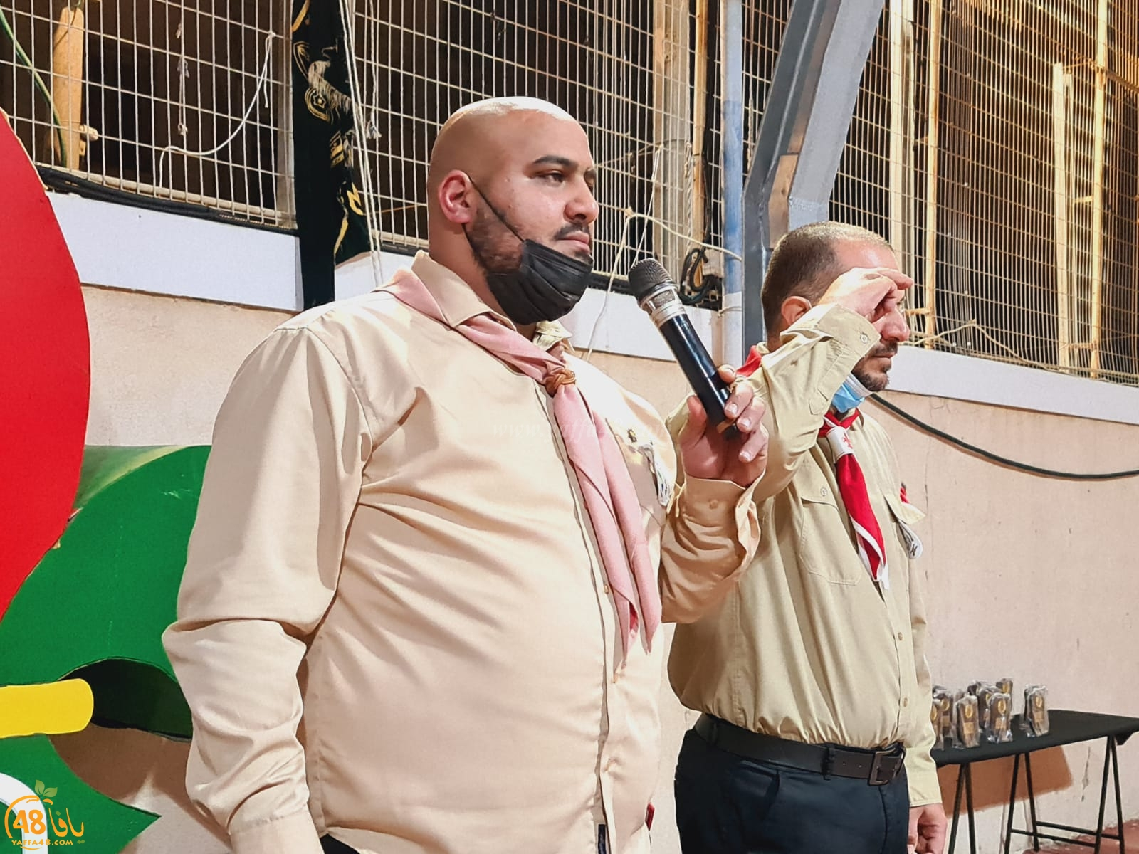 فيديو: الاحتفال بتدشين أعضاء ومرشدين جدد لسرية كشاف النادي الاسلامي بيافا