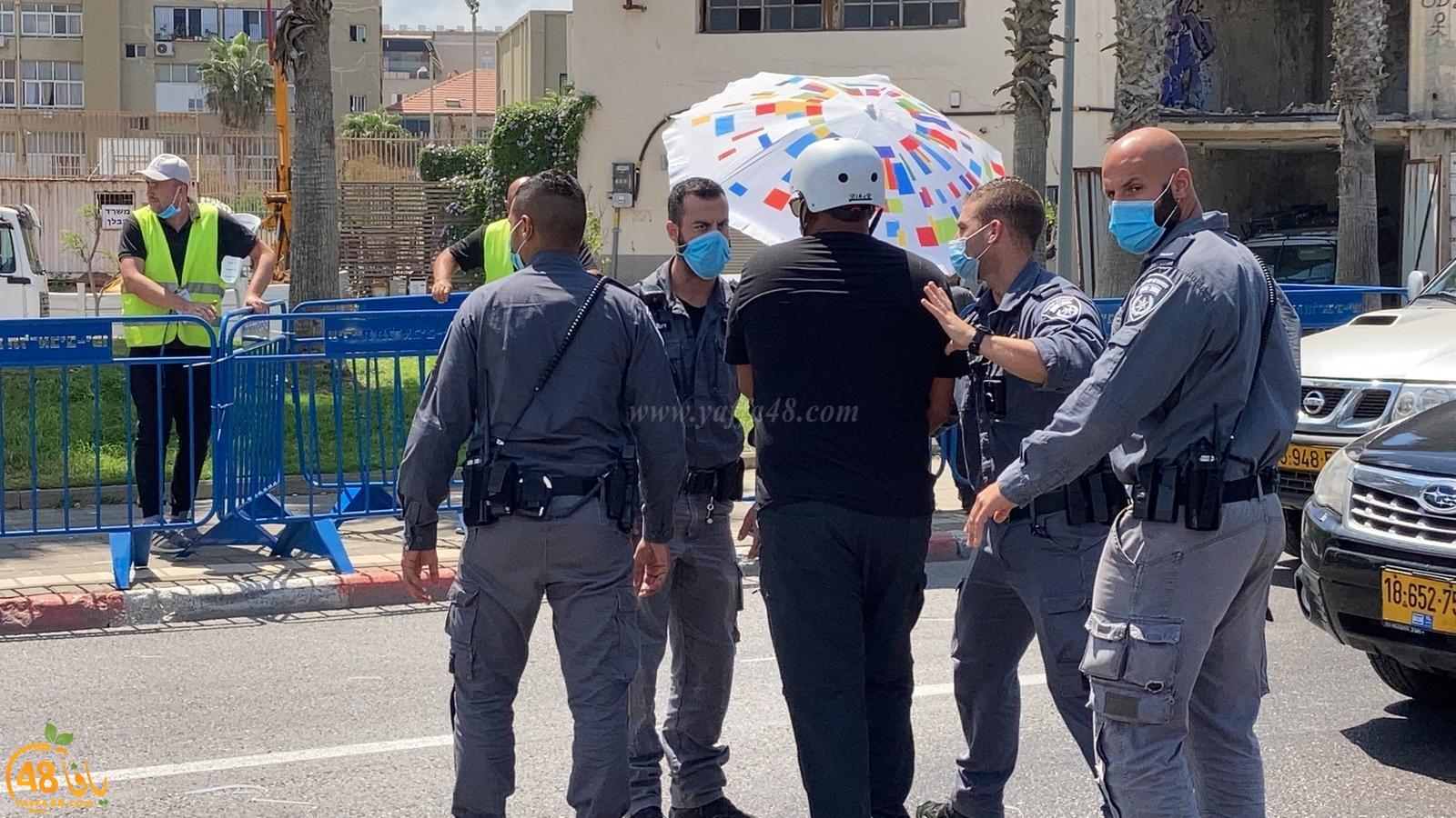 يافا: إعتقال 3 شبان من أمام مقبرة الاسعاف بعد مطالبتهم بوقف أعمال التجريف