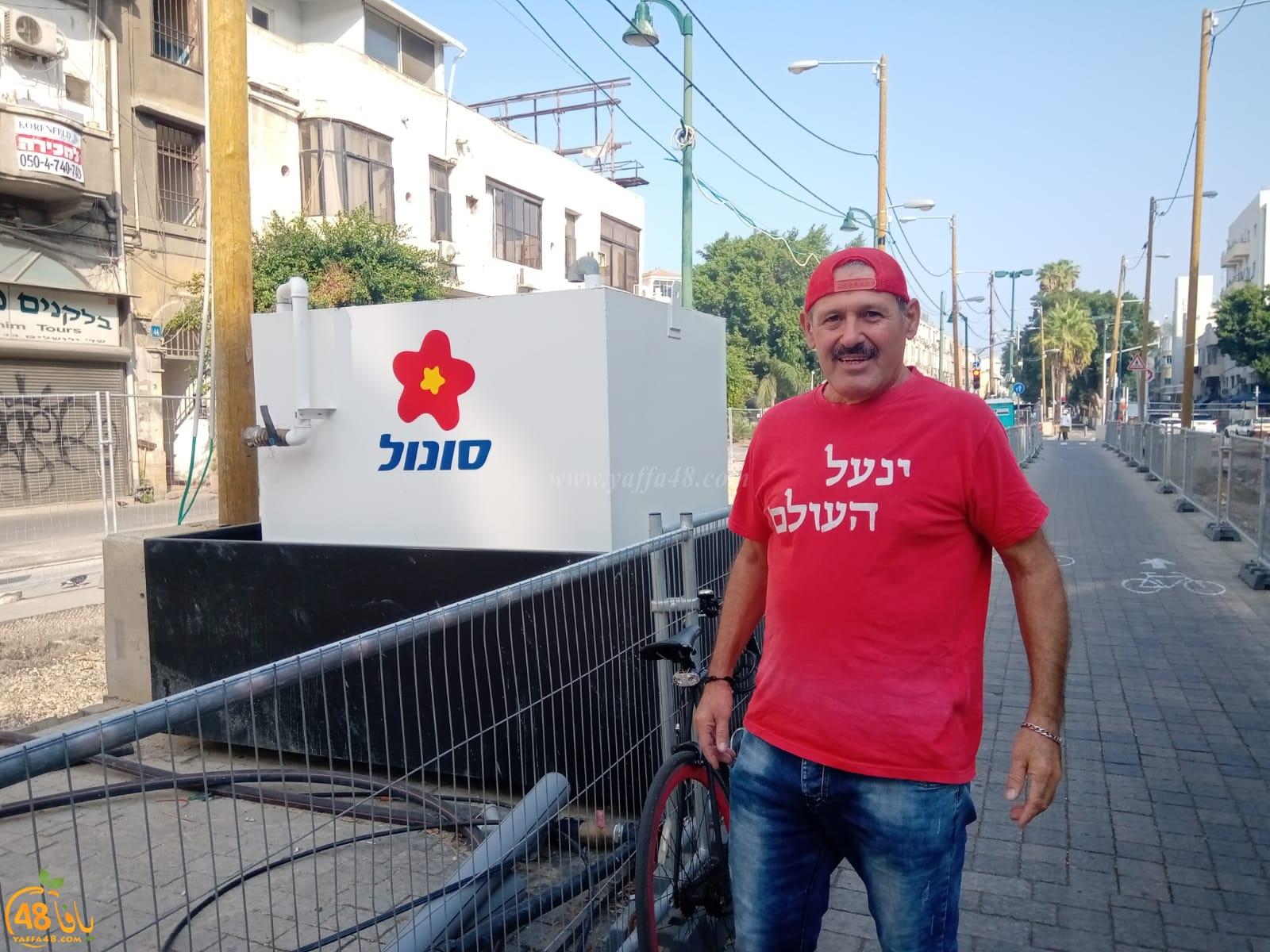 المواطن أبو إسماعيل شقرة من يافا: راكب درّاجة دهسني بشارع النزهة، ولم يقدّم لي المساعدة