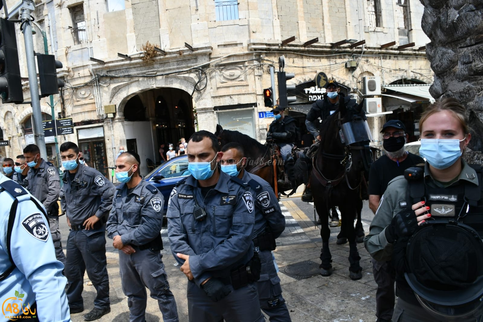 فيديو: مسيرة غاضبة في أعقاب صلاة الجمعة تنديداً بتدنيس مقبرة الإسعاف بيافا