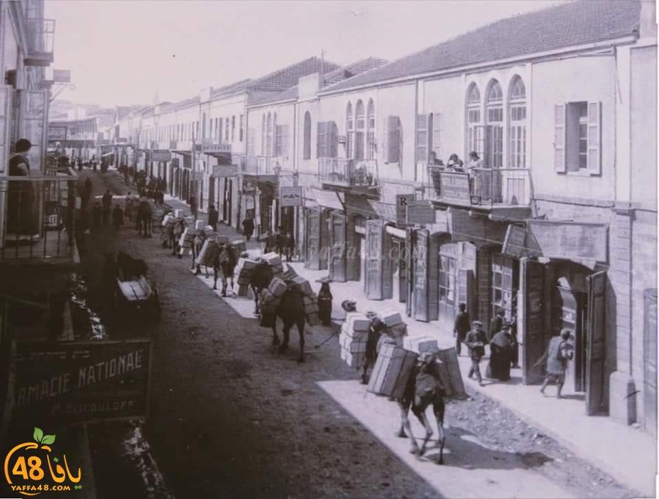 تعرّف على اسكندر عوض؟ ولماذا سُمي شارع اسكندر على اسمه في يافا؟