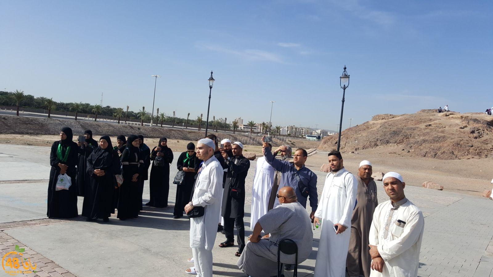 صور لمعتمري اللد والرملة أثناء تواجدهم في المدينة المنوّرة