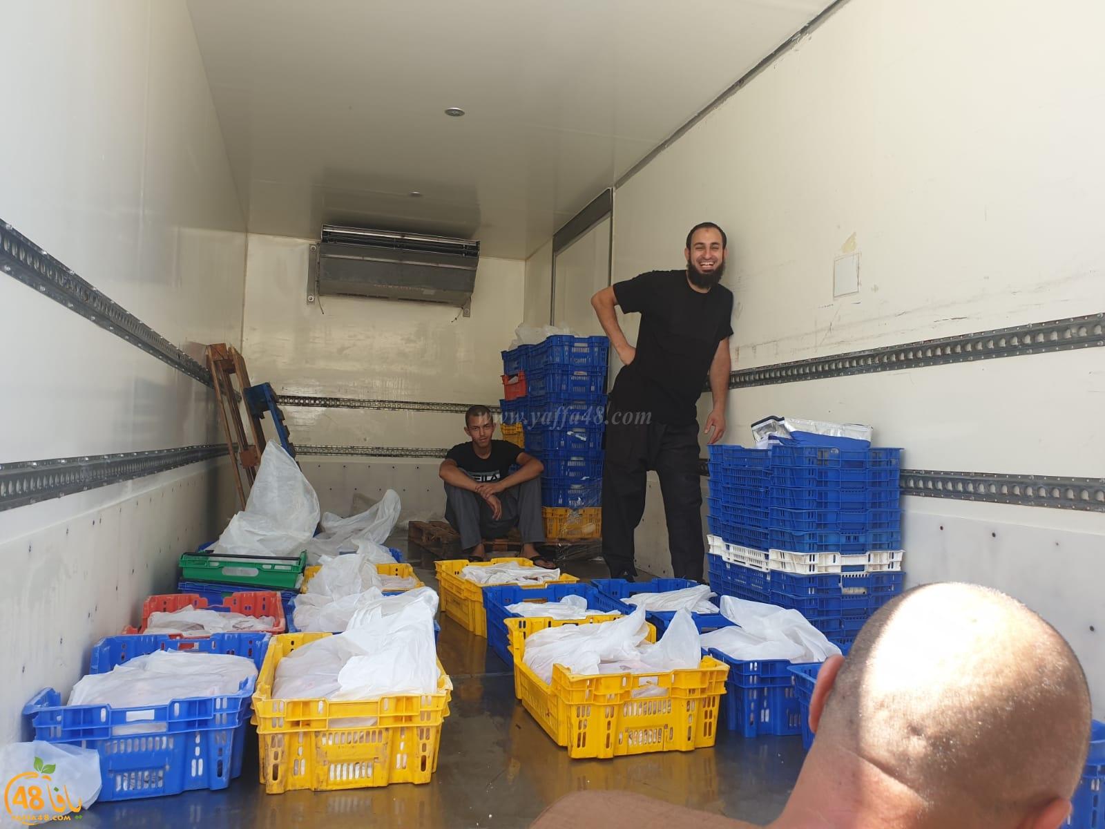 التوزيع حتى الخامسة - جمعية يافا تدعو كل العائلات اليافية لاستلام حصتها من لحوم الأضاحي
