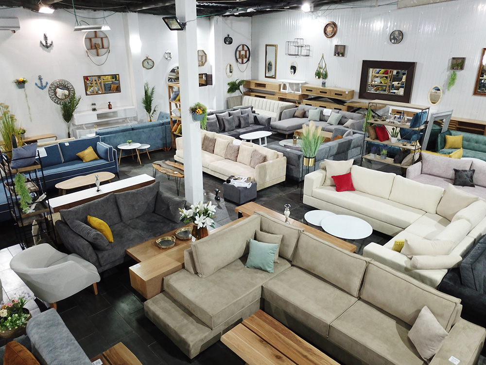 مفروشات المصنع بيافا أكبر صالة عرض للمفروشات والأثاث المنزلي
