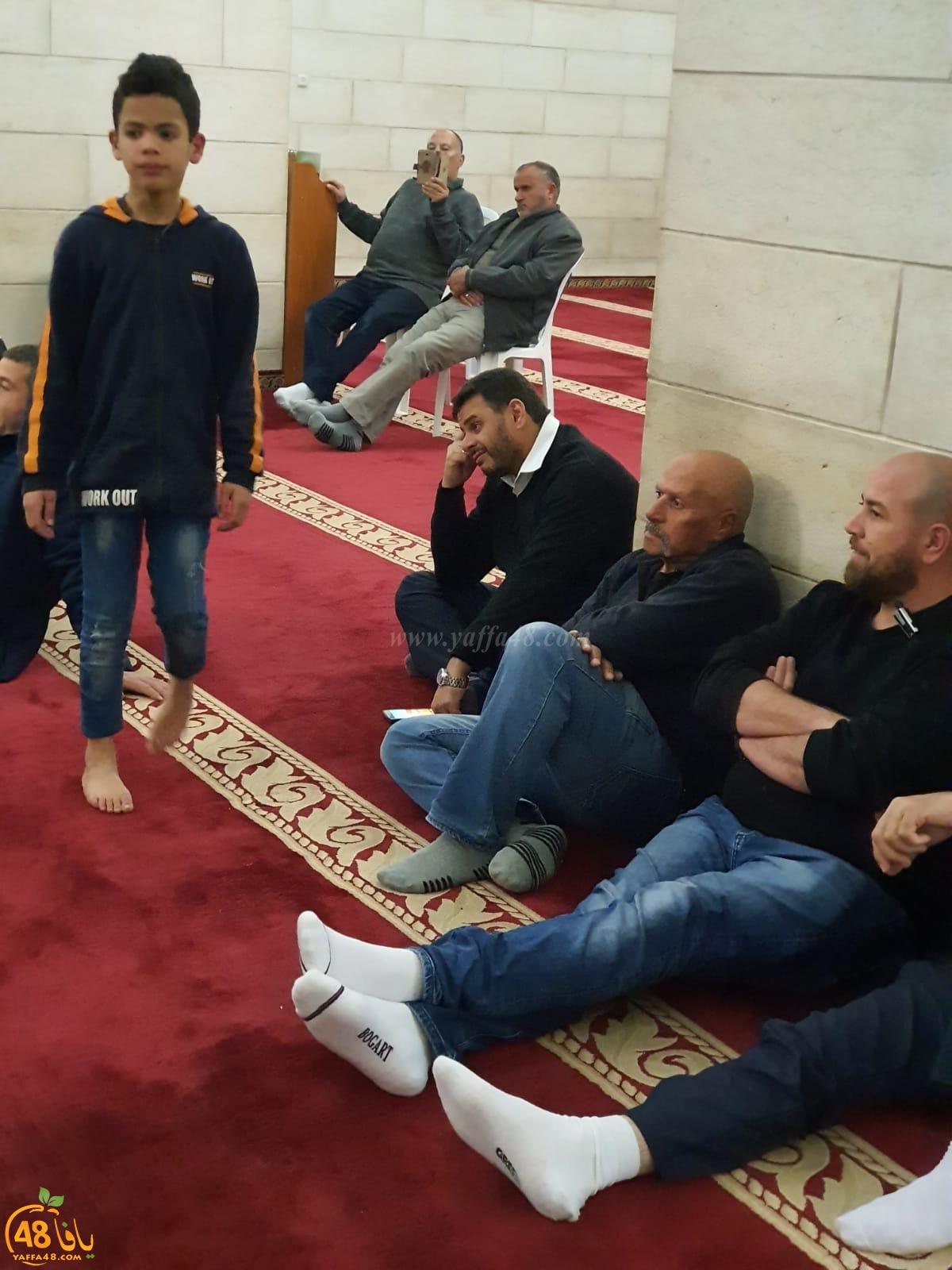 فيديو: محاضرة قيّمة لفضيلة الشيخ خالد غنايم في المسجد الكبير باللد