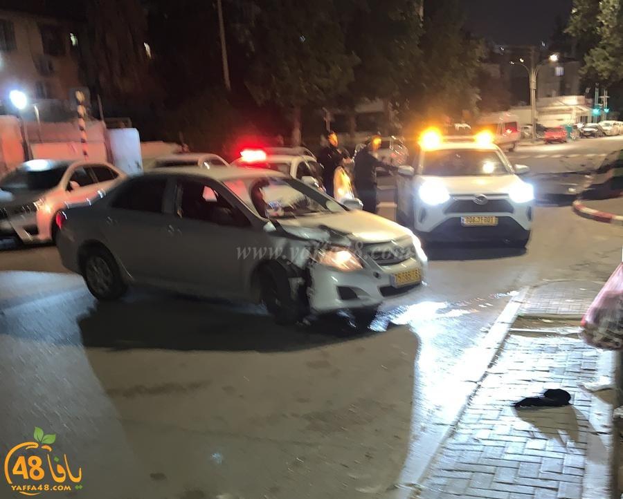 فجر اليوم: اصابة طفيفة بحادث طرق في مدينة اللد