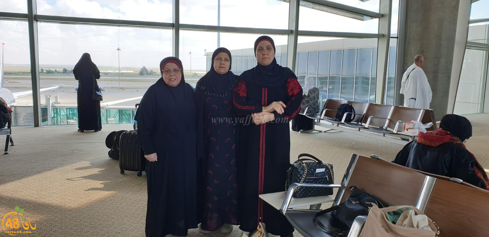 بالصور: معتمرو مدينة يافا يصلون إلى مكة المكرّمة لأداء عمرة الربيع