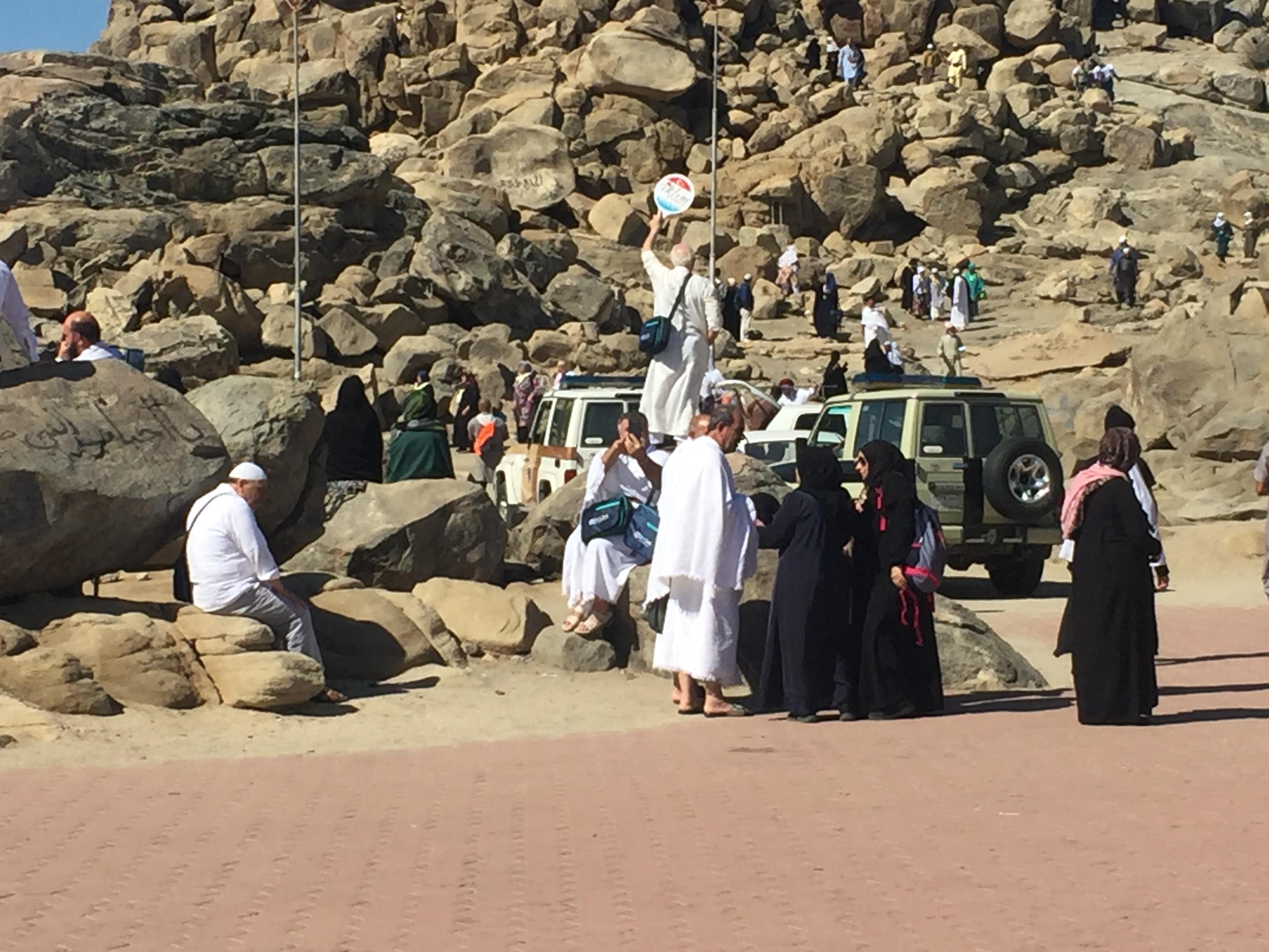 مكة المكرمة: معتمرو اللد والرملة في جولة بمكة المكرّمة