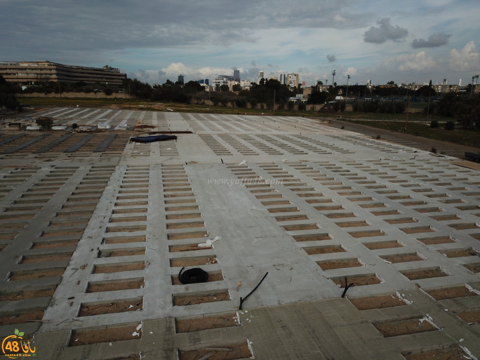 فيديو: الهيئة الإسلاميّة تعلن الانتهاء من إنشاء أضخم مسطح لدفن الموتى بمقبرة طاسو بيافا