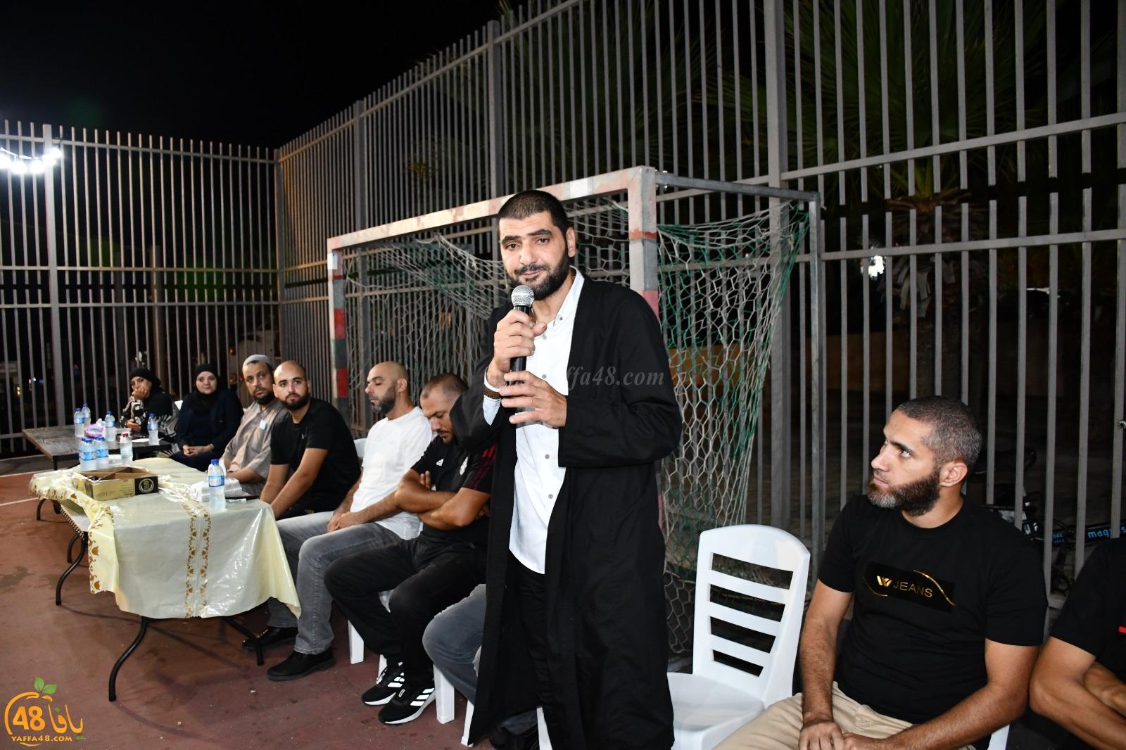 يافا: انطلاق الحملة الدعائية لمرشحي الهيئة الاسلامية في ساحة مسجد الجبلية