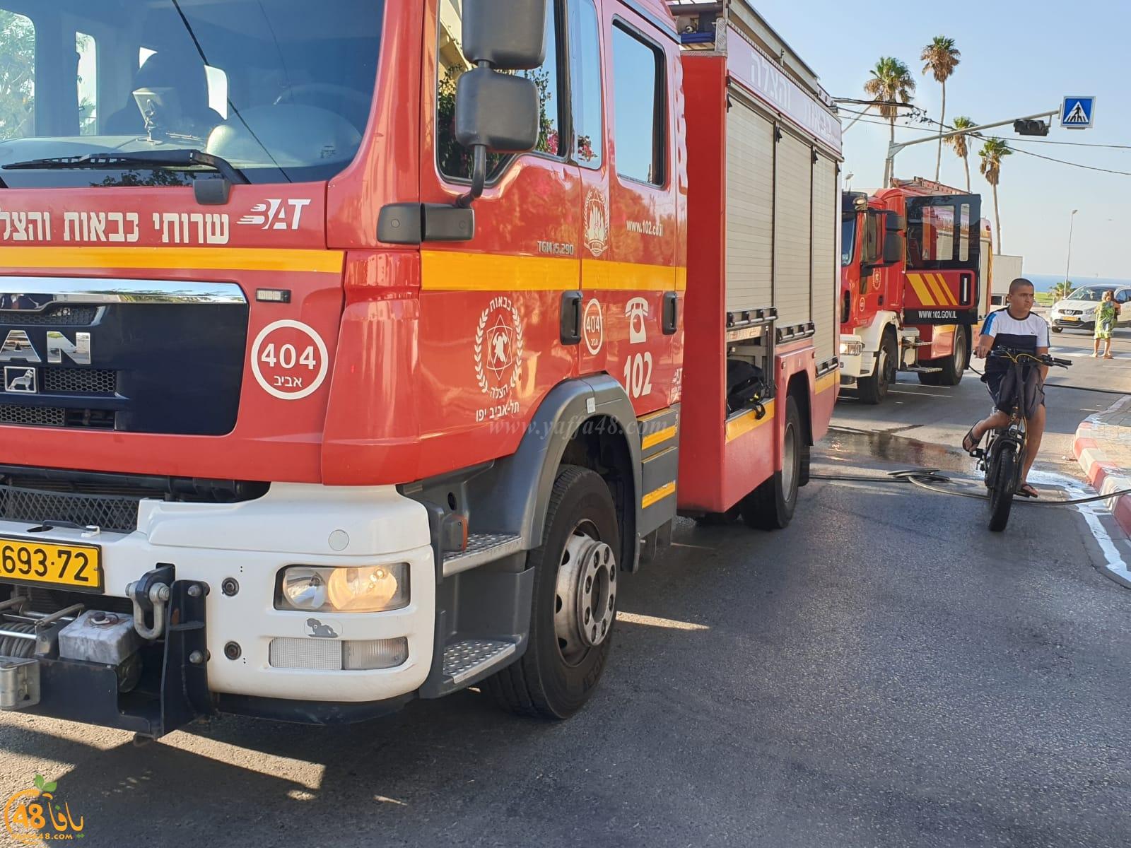 بالفيديو: حريق داخل منجرة بيافا وطواقم الاطفائية تهرع للمكان
