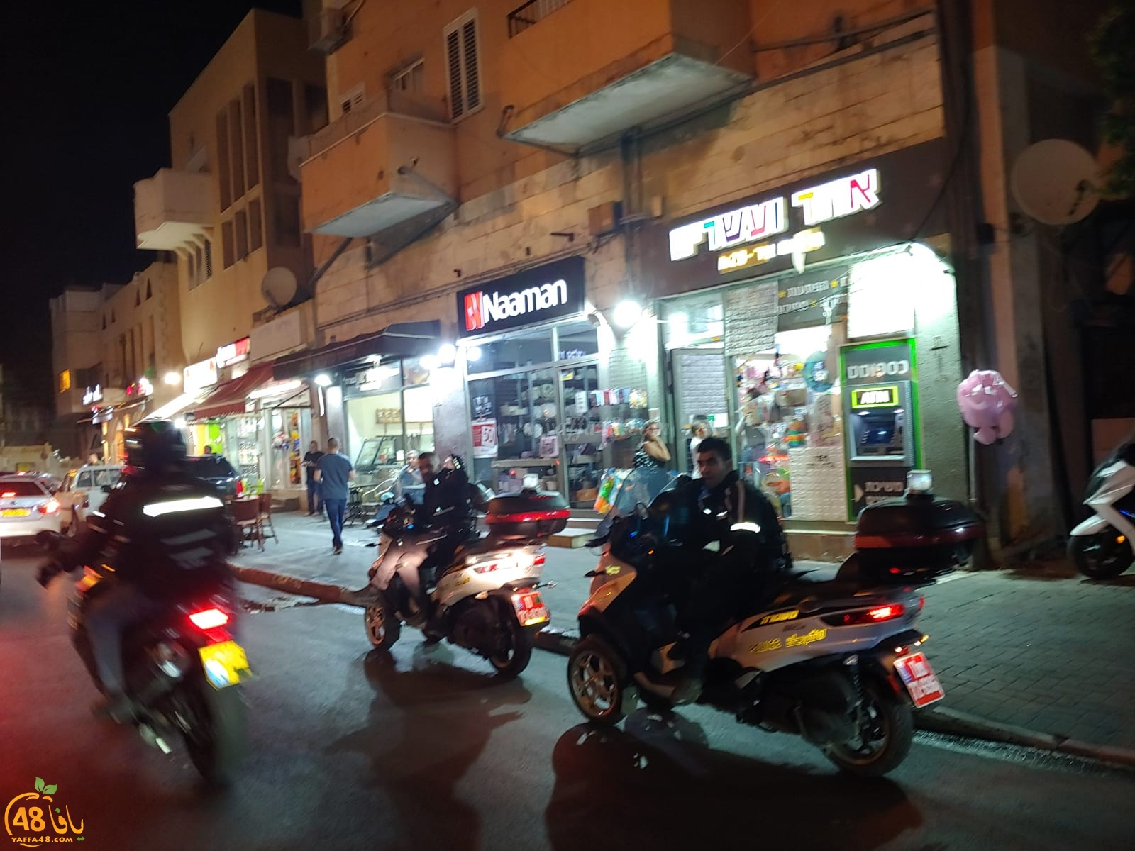 فيديو: الشرطة تنتشر بكثافة في شوارع يافا وتنصب حواجزها