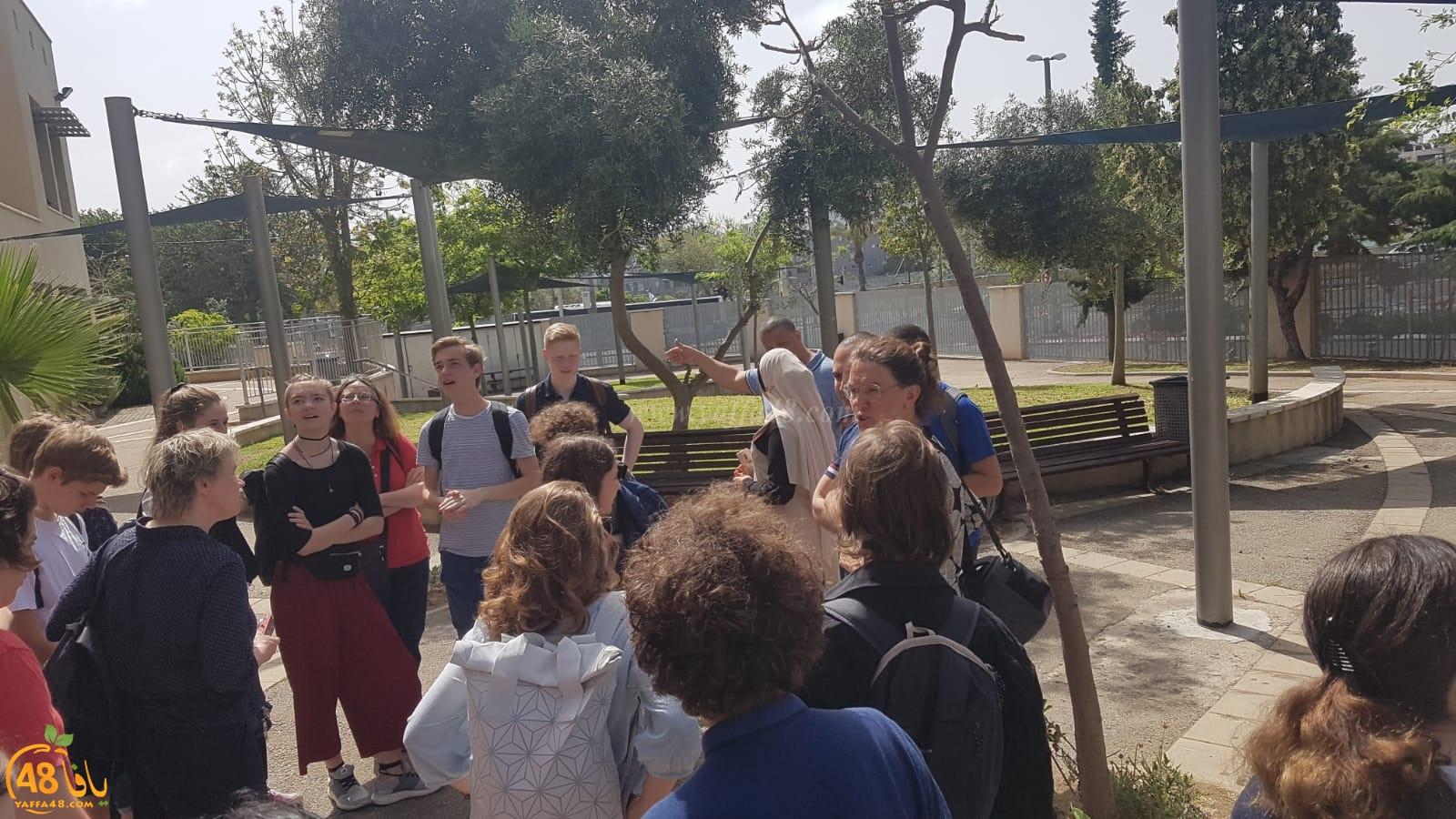 مدرسة أجيال الثانوية تستضيف بعثة من طلاب ألمانيا للتبادل الثقافي