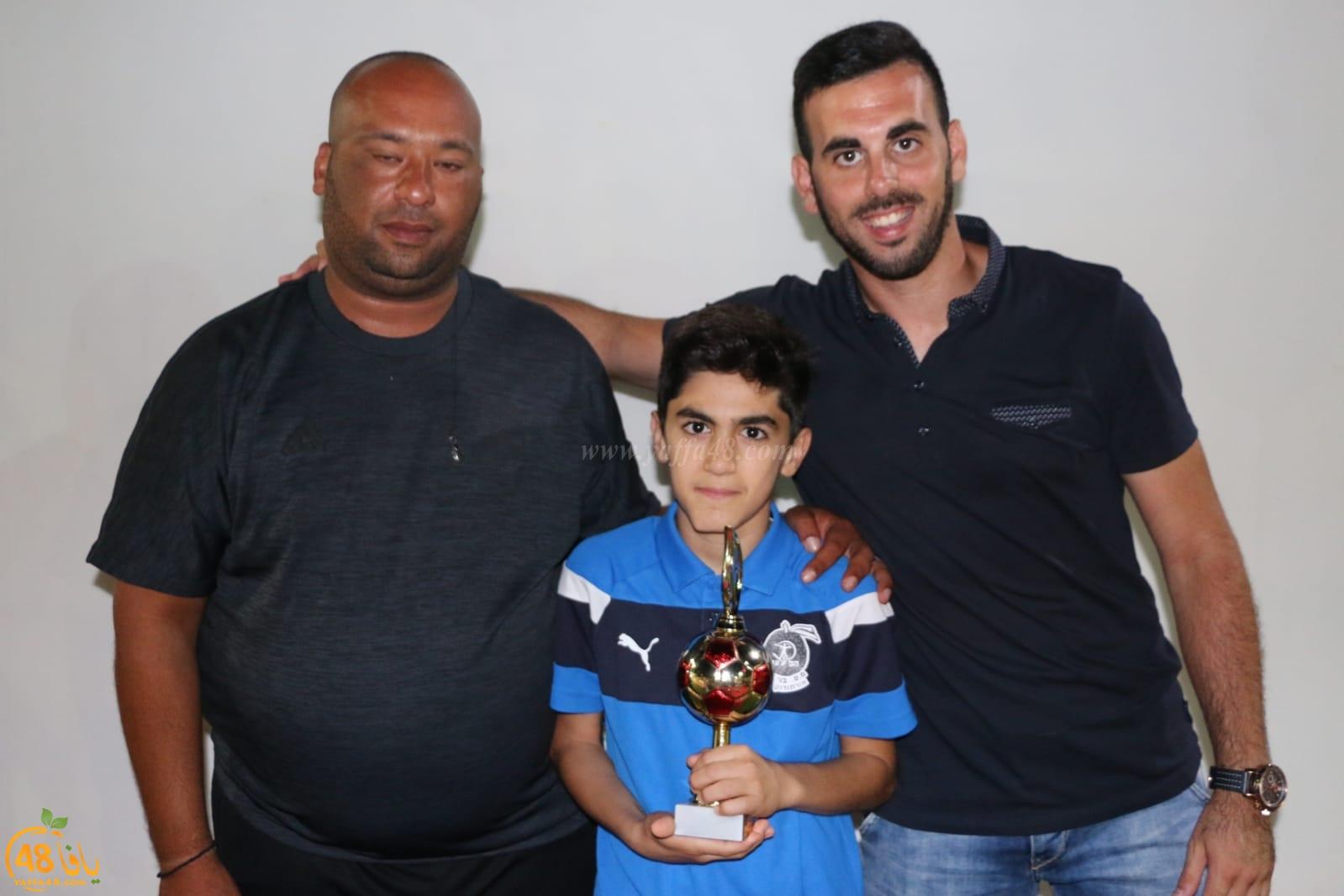 صور: فريق أطفال أبناء يافا ب يختتم الموسم الكروي في المركز الثاني