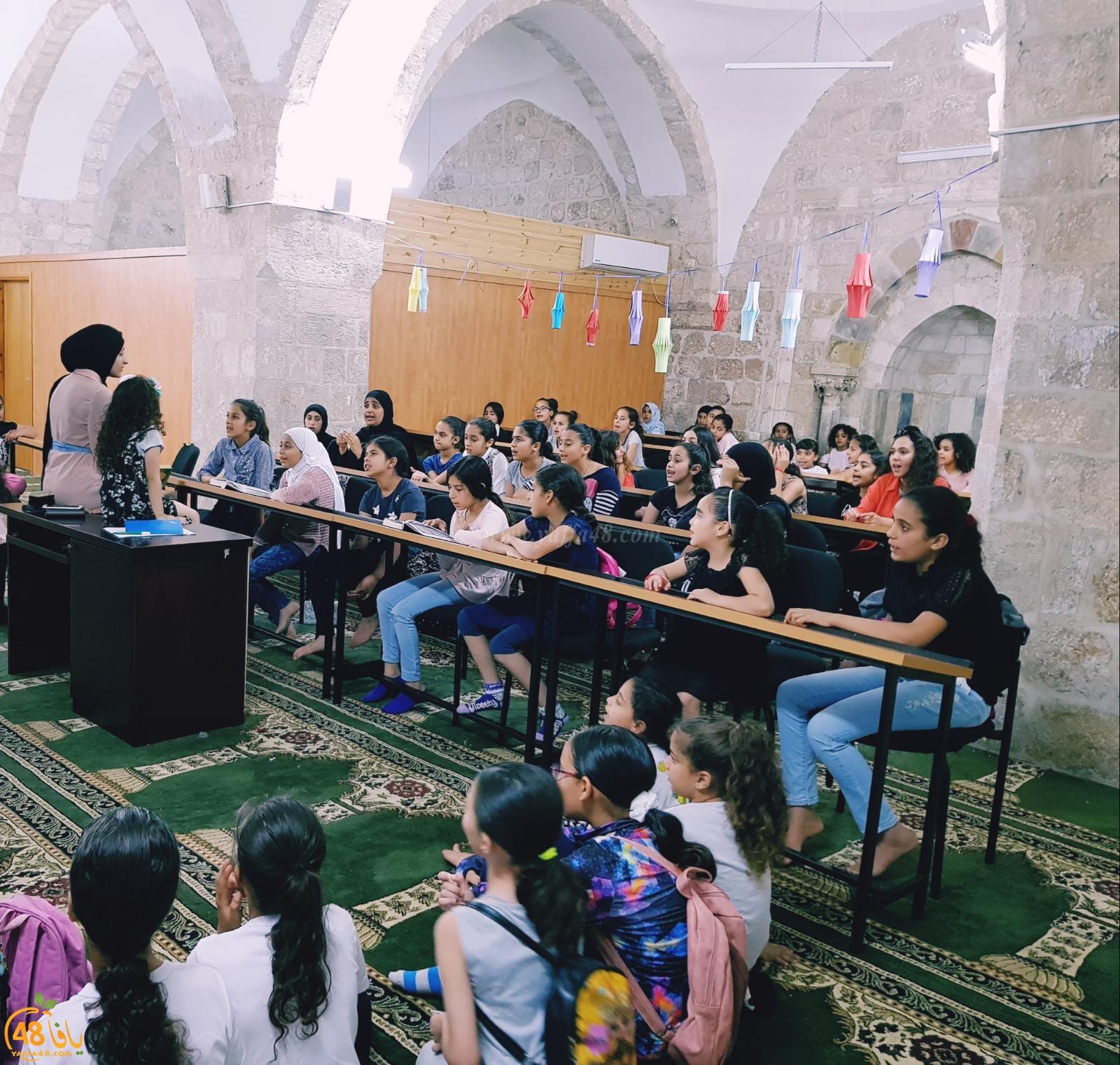 الرملة: افطار جماعي للفتيات الصغيرات في المركز الاسلامي الثقافي