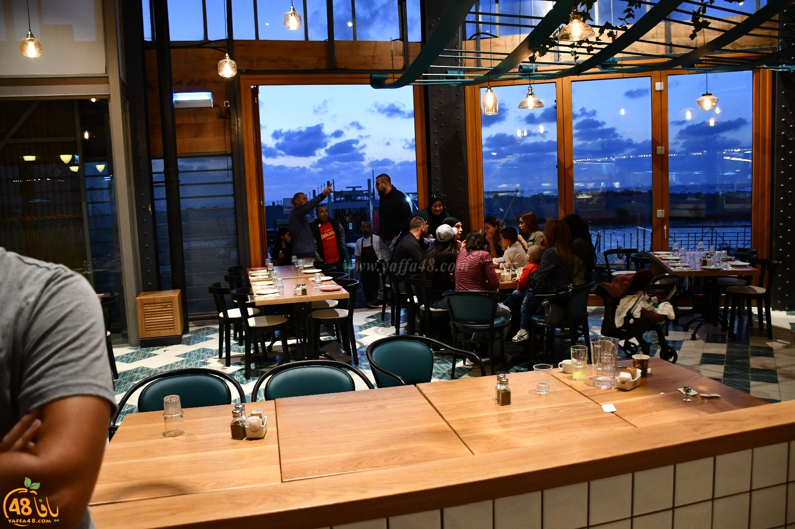 فيديو: افتتاح مطعم صقلية في مرفأ ميناء يافا لأشهى الوجبات البحرية على الطريقة الايطالية