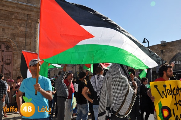 من أرشيف يافا 48 - احياء ذكرى النكبة الـ65 في مدينة يافا عام 2013