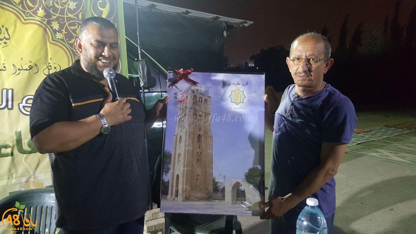 بالصور: اللقاء الخامس ضمن مهرجان استقبال شهر رمضان في مدينة الرملة