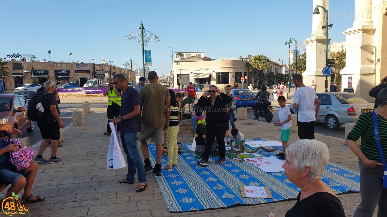 فيديو: تظاهرة بمدينة يافا احتجاجاً على قرار إغلاق شارع شديروت يروشلايم