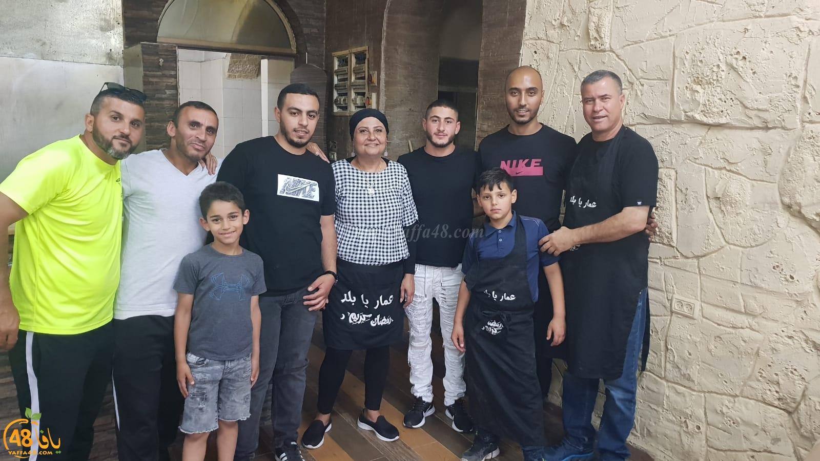 اللد: توزيع 300 وجبة افطار يومياً في رمضان ضمن مشروع عمار يا بلد