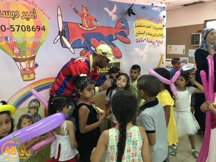 الرملة : روضة الدنيا تحتفل بانتهاء العام الدراسي