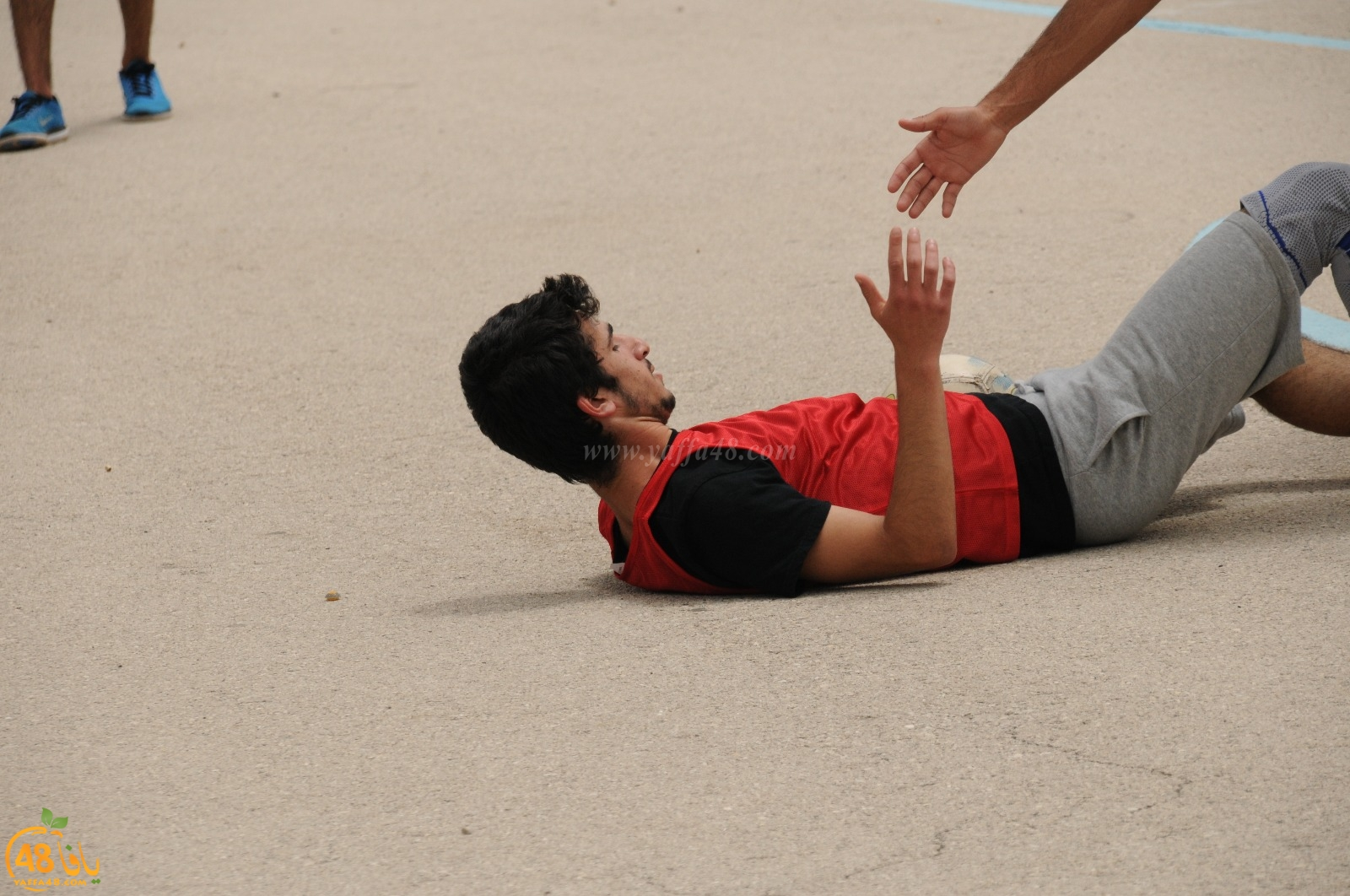 صور: مدرسة تيراسنطا الثانوية بيافا تُنظم ماراثوناً رياضياً