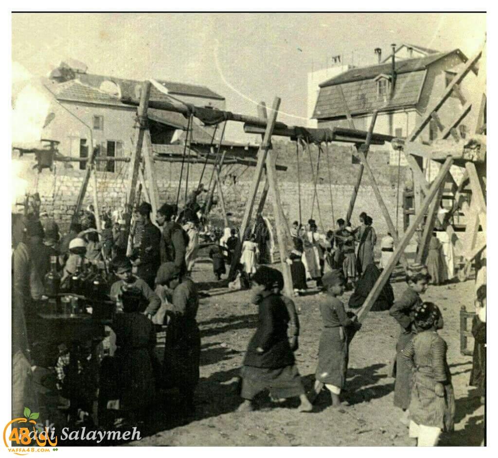 صور نادرة للعيد في يافا قبل عام النكبة 1948
