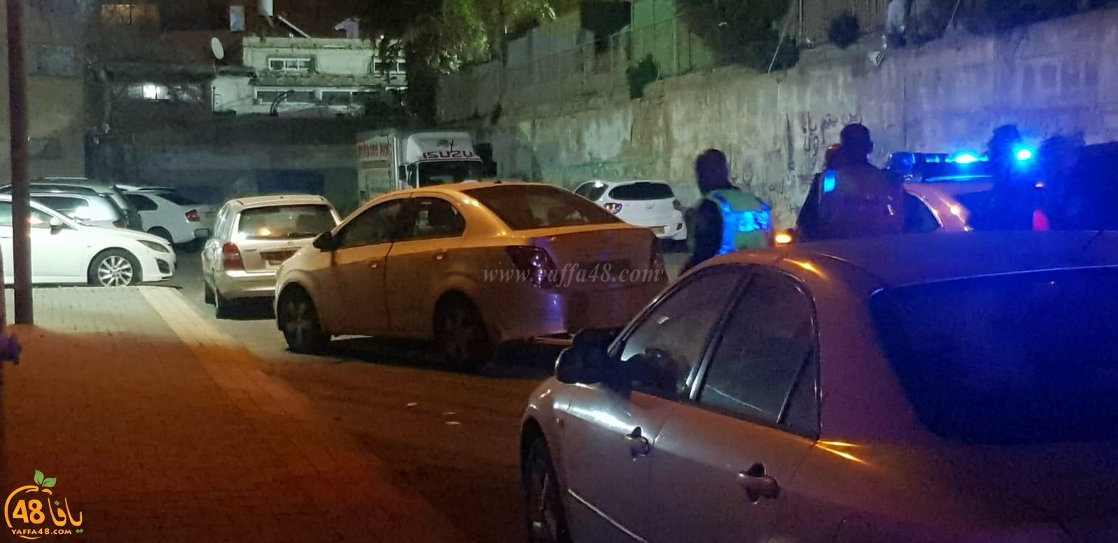 فيديو: اعتقال شاب بعد مطاردته في مدينة يافا