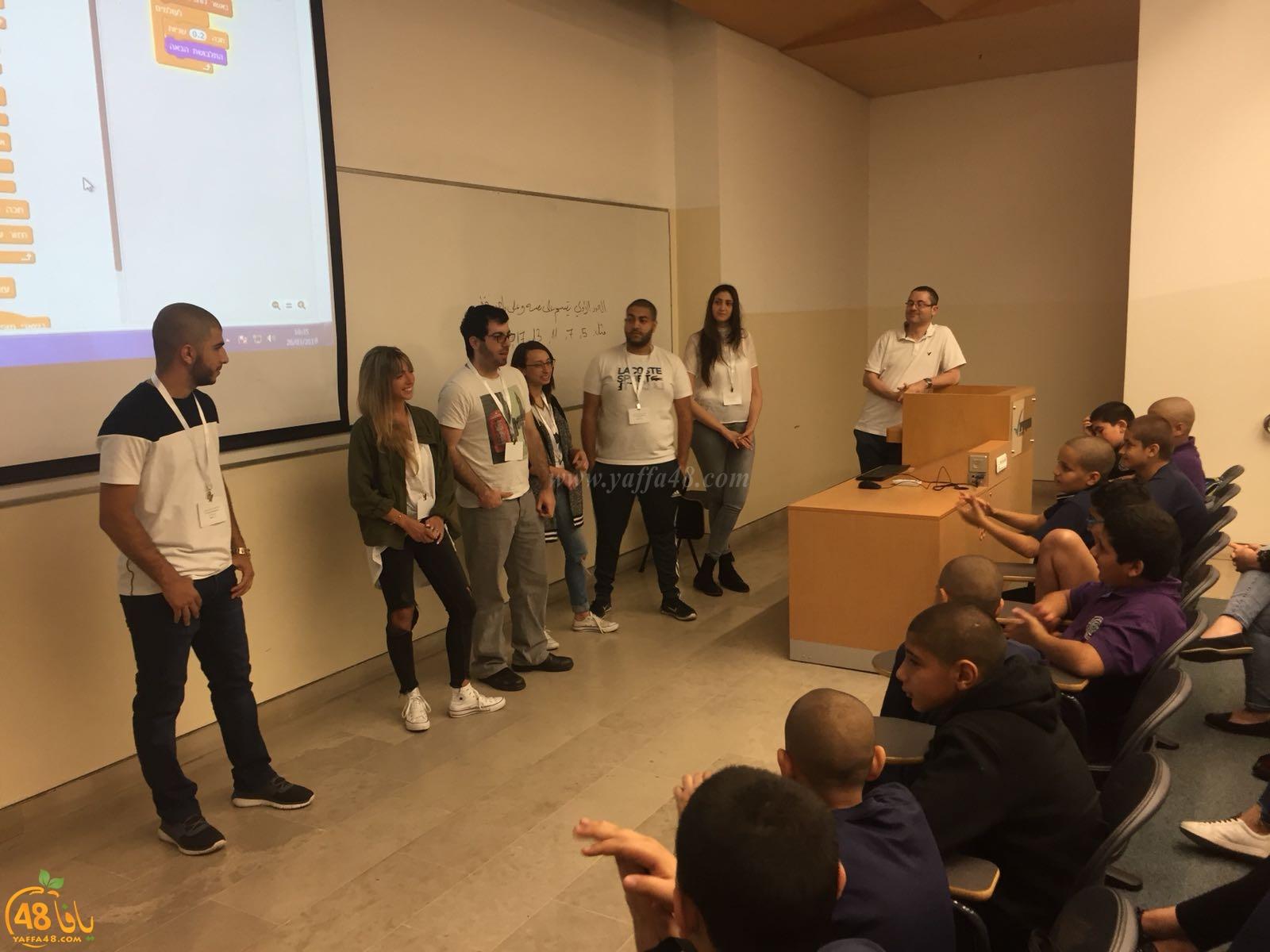لقاء لمشروع شبكة المبرمجين الشباب بالتعاون بين الكلية الاكاديمية ومدرسة يافا المستقبل