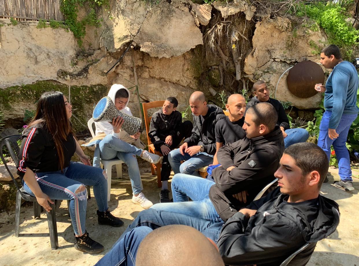 جولة لطلاب التكنولوجية تل ابيب عمال 1 في واحة السلام