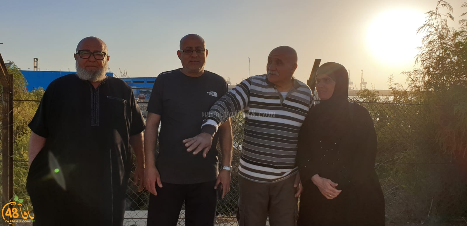 بالصور: معتمرو الفوج الثاني من يافا يزورون جدّة بعد أداء العمرة