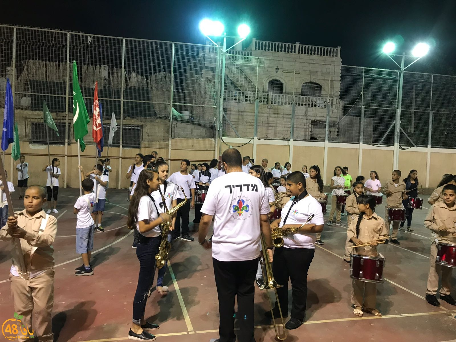 بالصور: كشاف النادي الاسلامي يستعد لتنظيم استعراض كشفي بمناسبة عيد الفطر