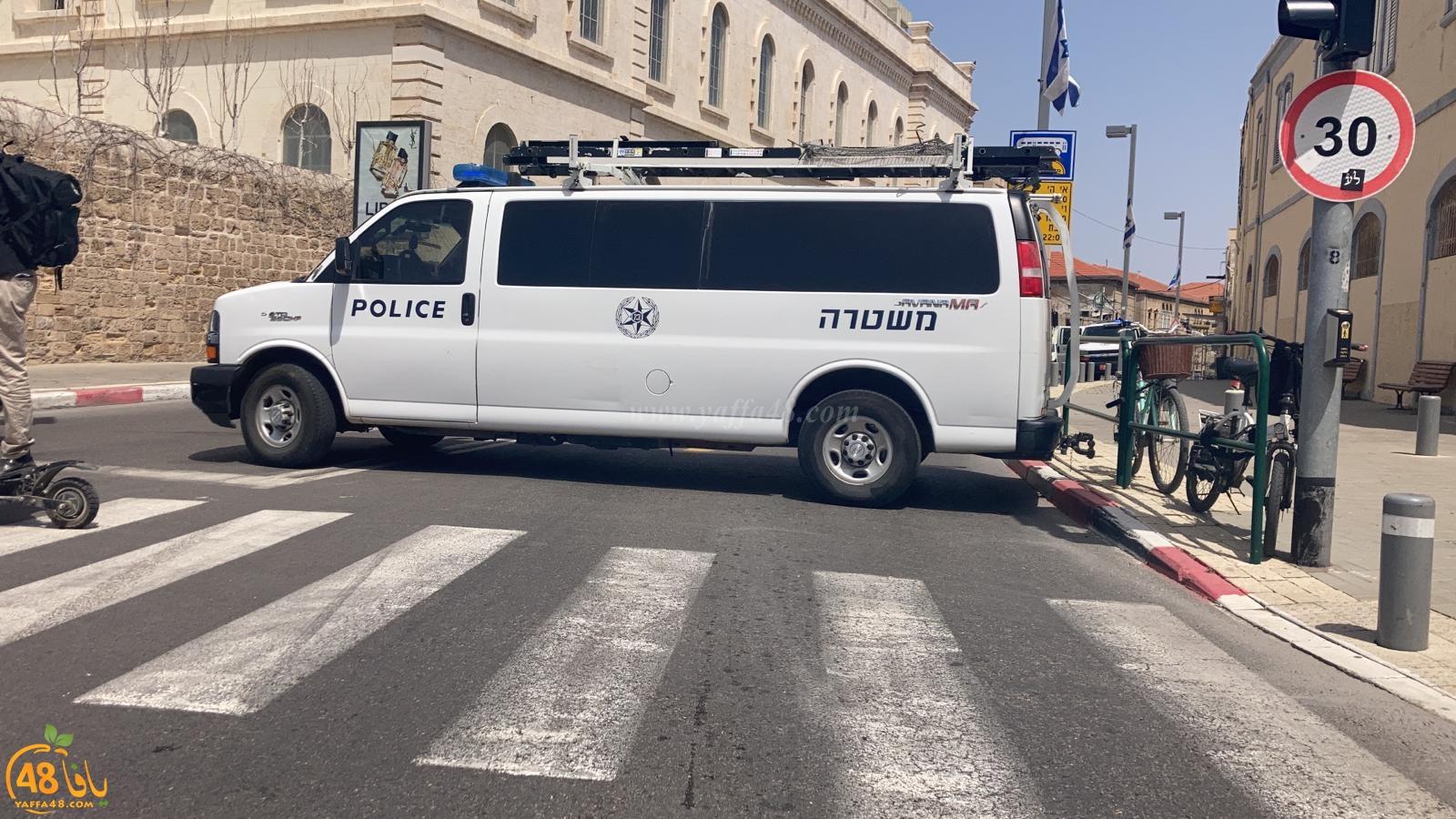 فيديو: اغلاق مقطع من شارع ييفت بعد العثور على جسم مشبوه
