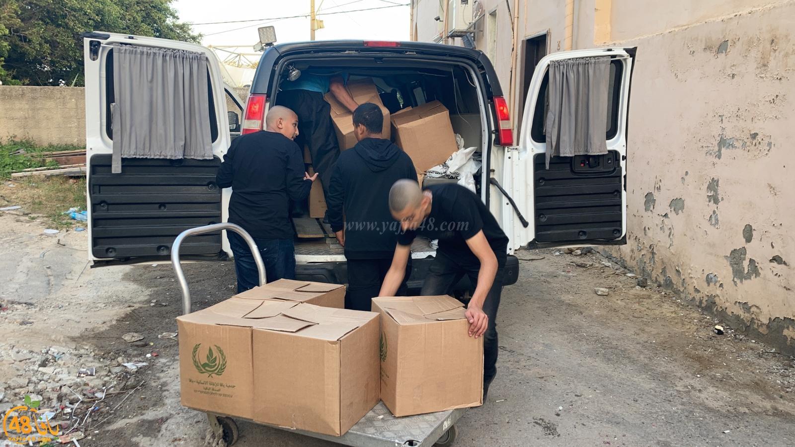 فيديو: جمعية يافا تُباشر بتوزيع الطرود الغذائية على العائلات المتعففة بيافا