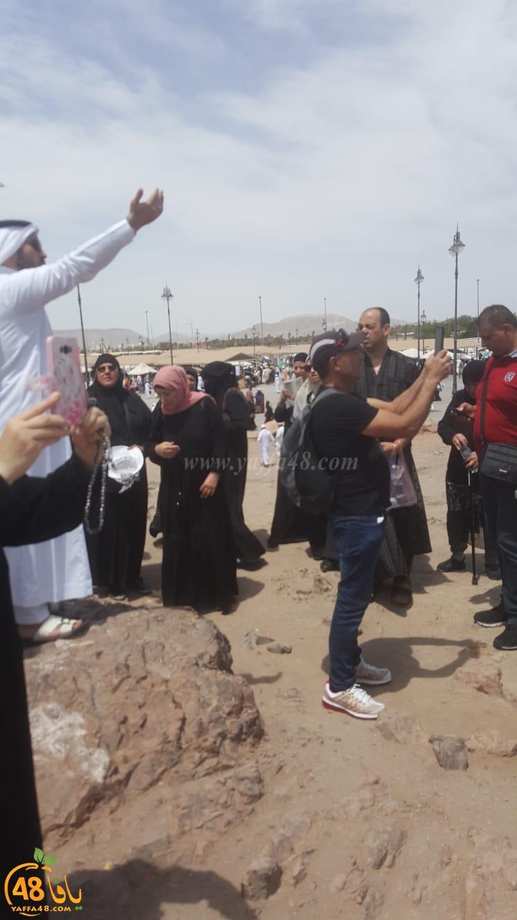 صور: حجاج مدينة يافا يصلون الى المدينة المنوّرة