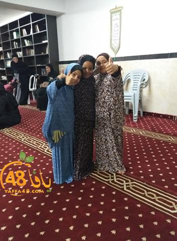 صورتي الأجمل - زهرات من مدينة يافا خلال درس للنساء في مسجد الجبلية