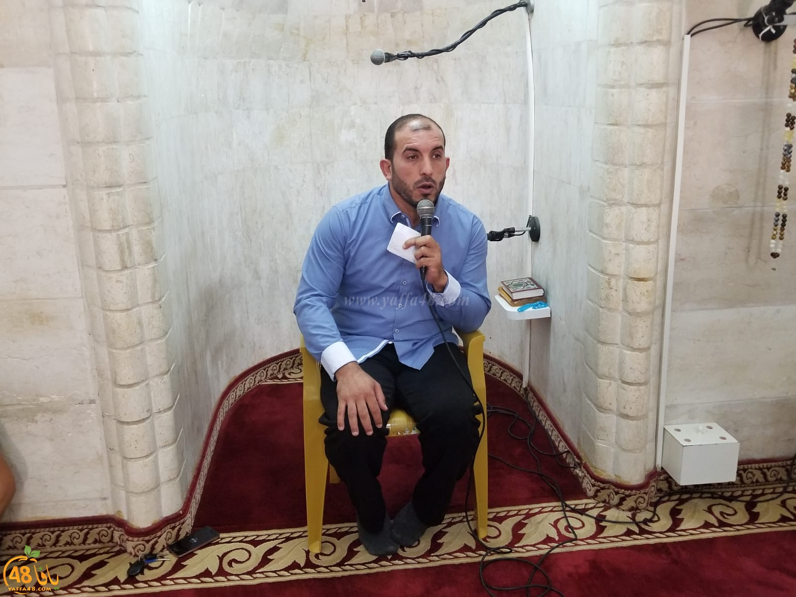 المحاضرة الأخيرة لدروس رمضان في المسجد العمري الكبير للشيخ يوسف سلامة