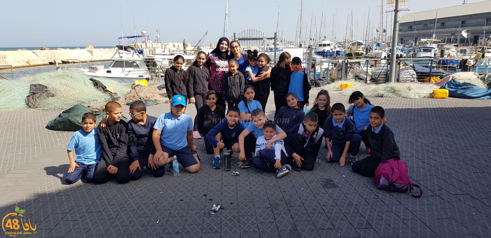 فيديو: تجاوب كبير من طلاب مدرسة حسن عرفة مع نداءات الصيادين في ميناء يافا
