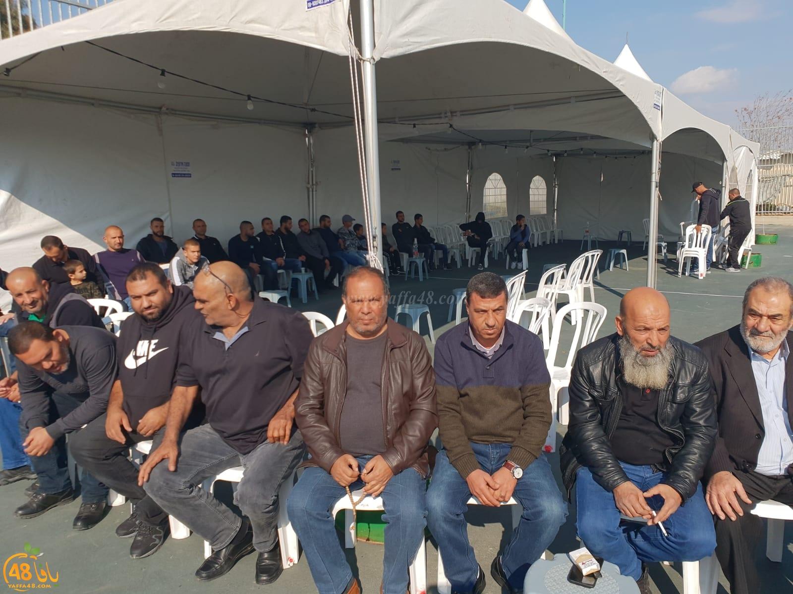 بالصور: عقد راية الصلح بين آل شعبان وآل أبو زايد في اللد