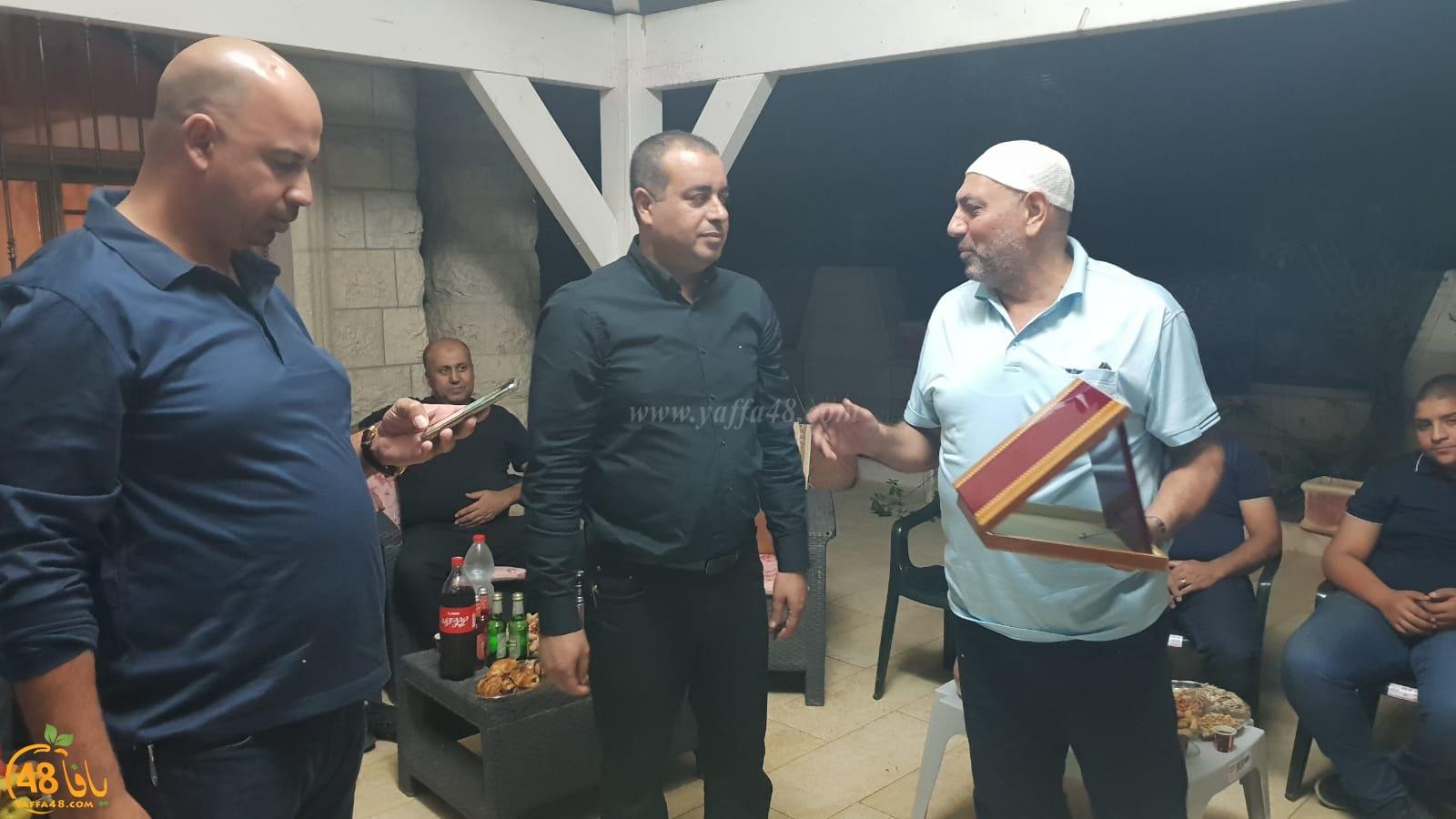 بالصور: قائمة النداء العربي اللداوية تُهنئ المهندس جمال ابو صيام بدخول المجلس البلدي