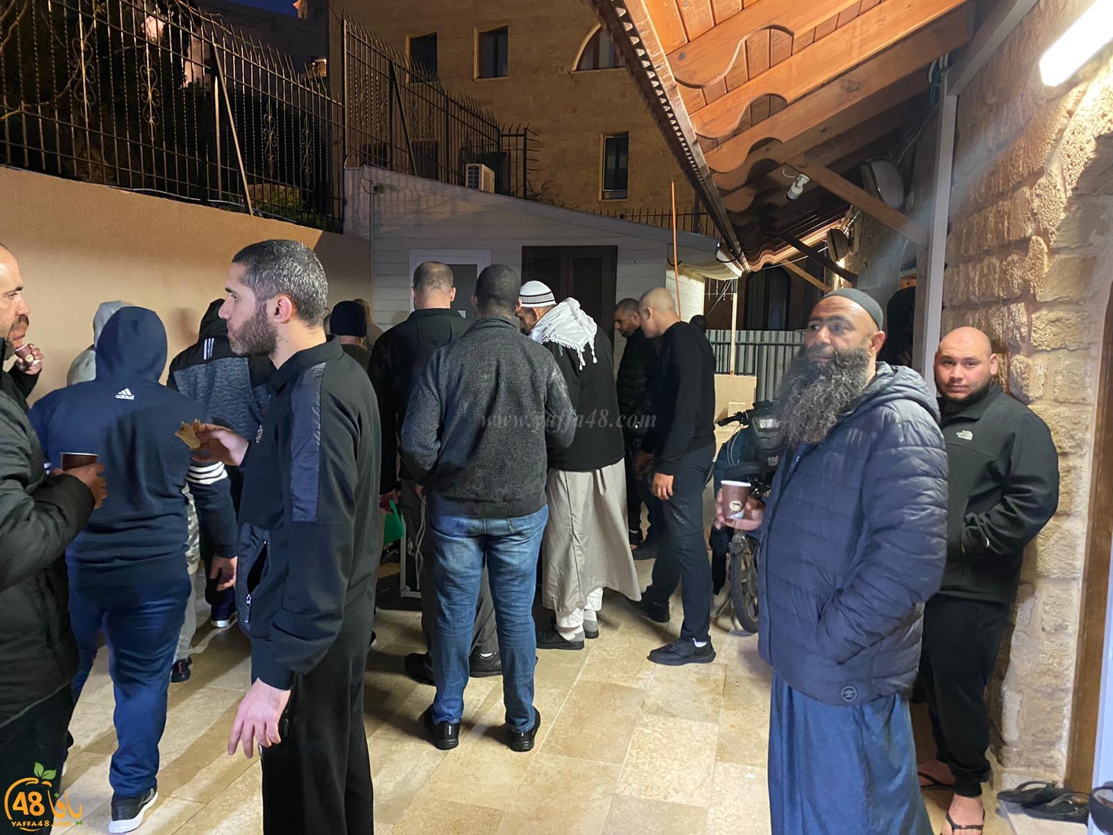 صور: صلاة الفجر العظيم من مسجد البحر بيافا