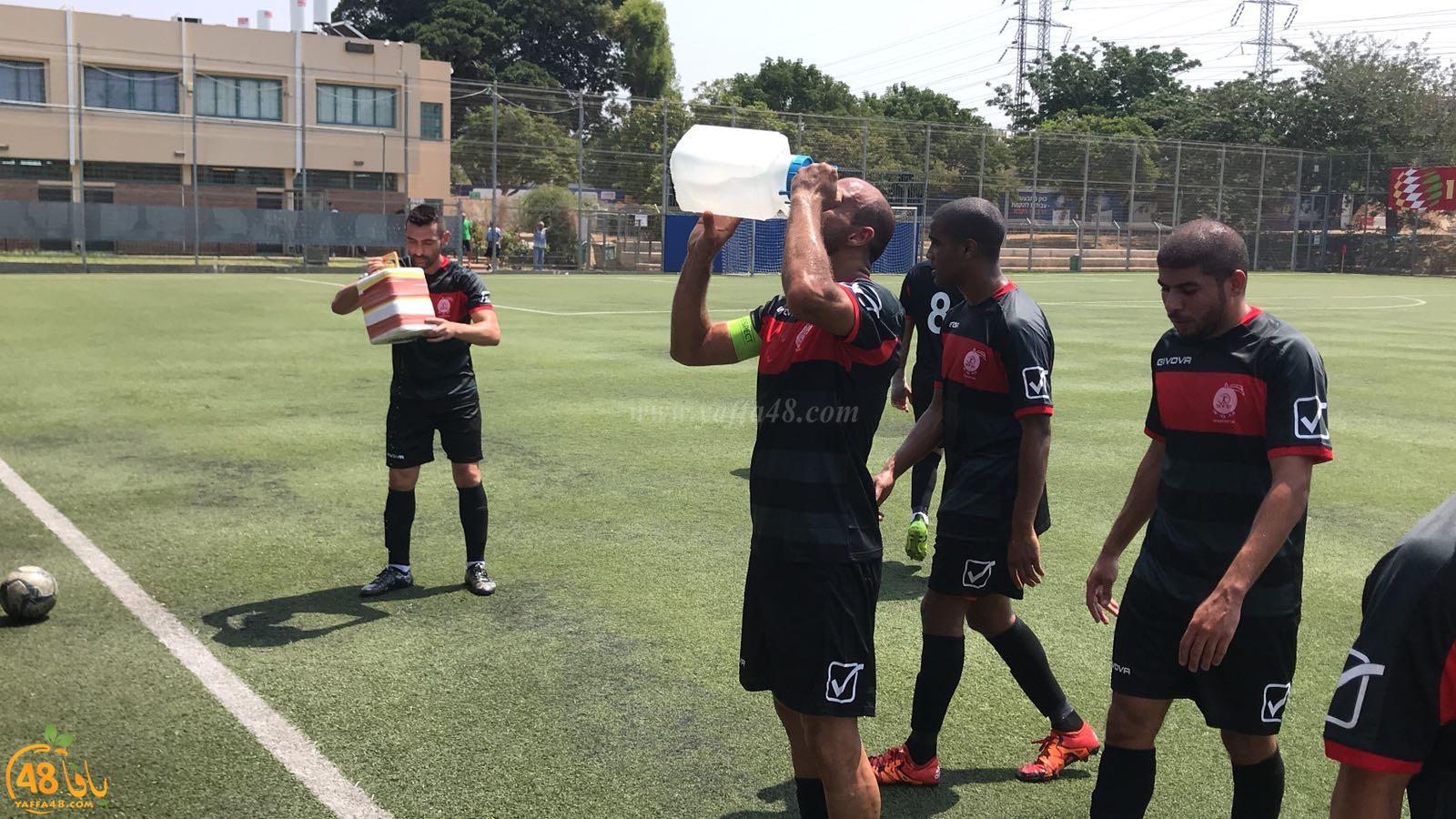 صور: فريق أبناء يافا يفوز على بيتار رمات جان بنتيجة 4-1