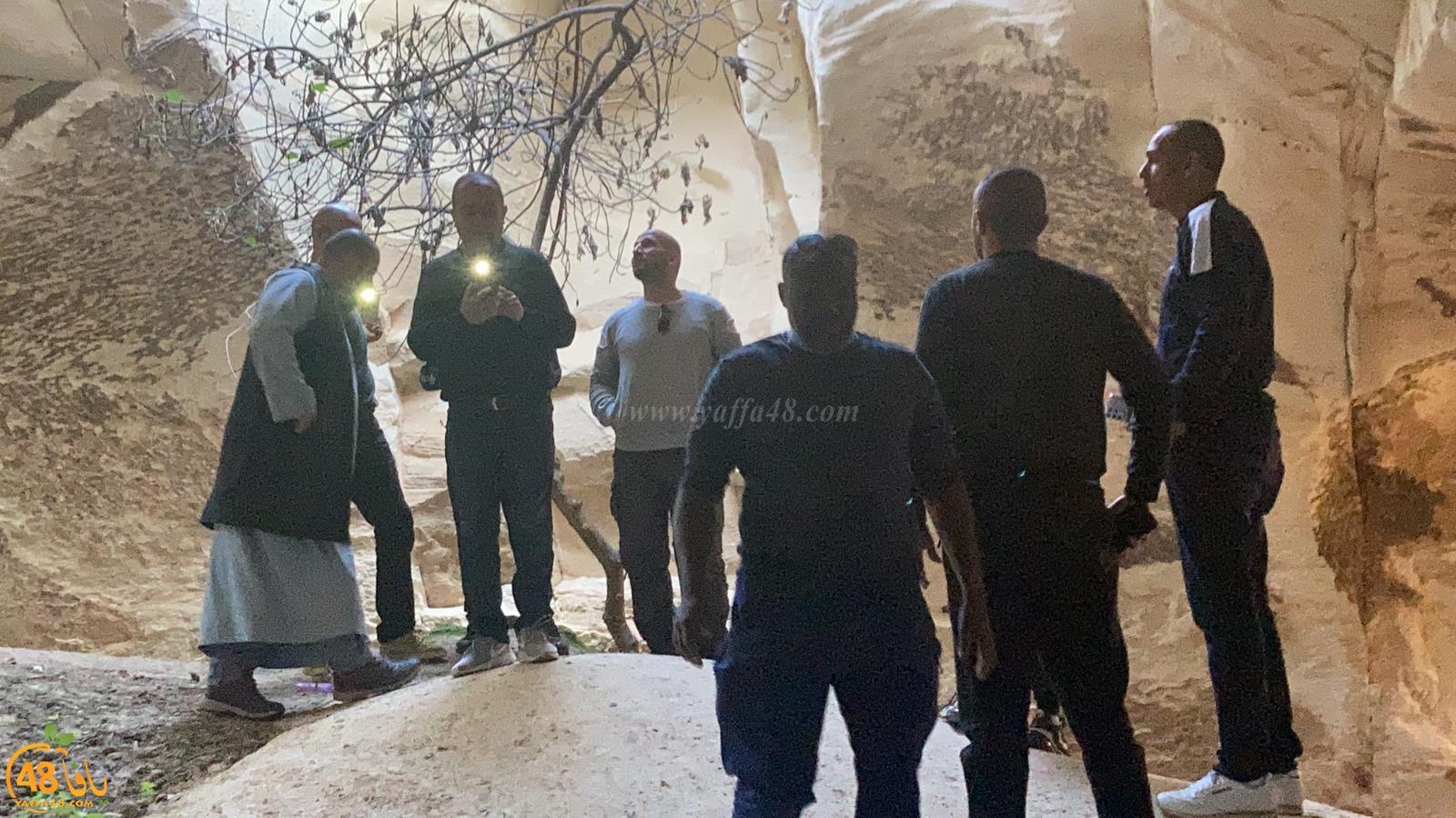 فيديو: شباب يافا في رحلة ترفيهية الى مغارات قرية دير دبان